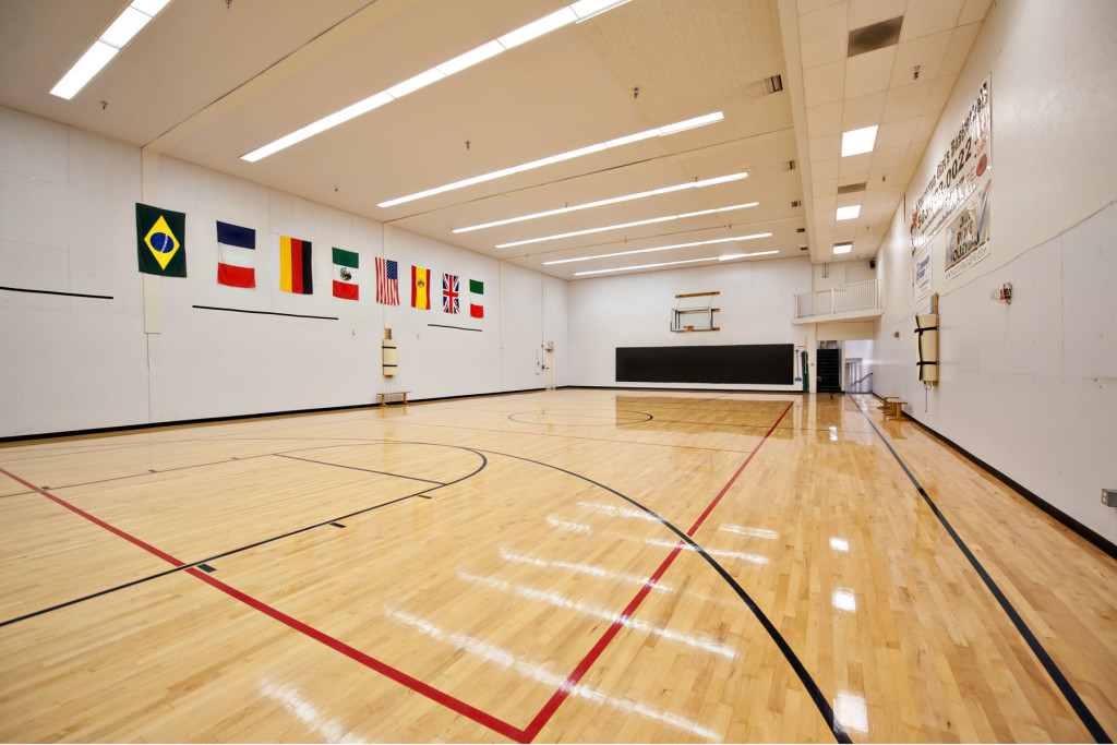 Indoor soccer arena rentals basketball court dance for Personal basketball court